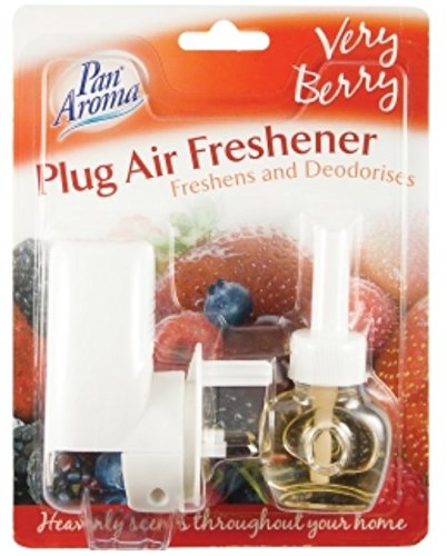 Plug In Air Freshener Plug Unit With Scented Fragrance - Very Berry