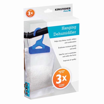 Hanging Dehumidifier Absorbs Stop Damp Mould Mildrew Condensation - Improve Air