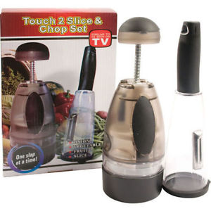 Touch 2 Slice And Chop Set - Dishwasher Safe + Easy To Use