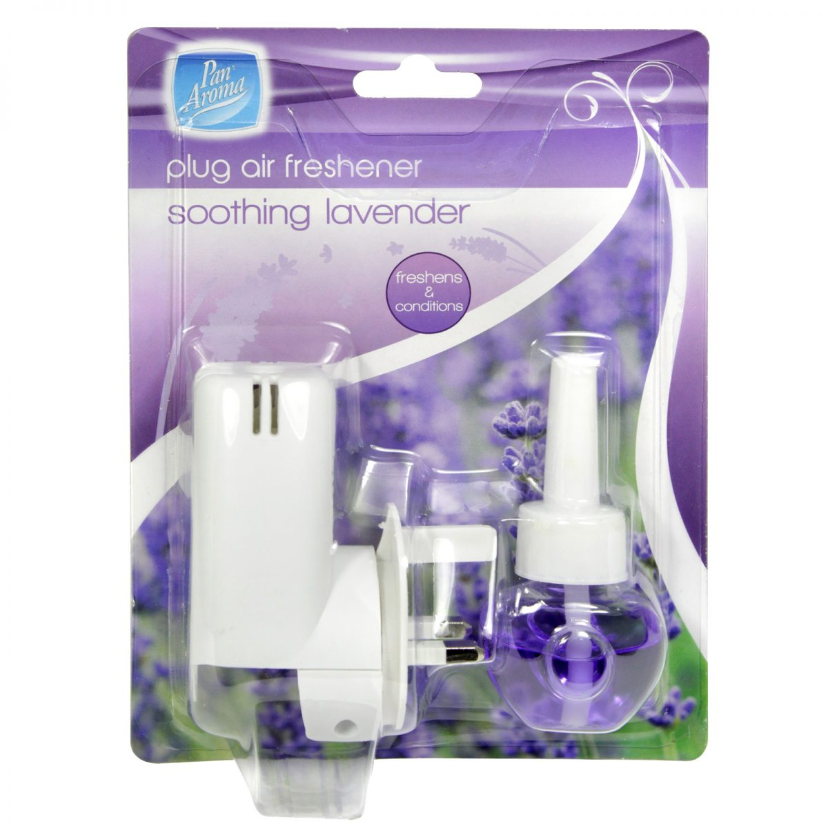 Pan Aroma Soothing Lavender Scented Plug in Air Freshener