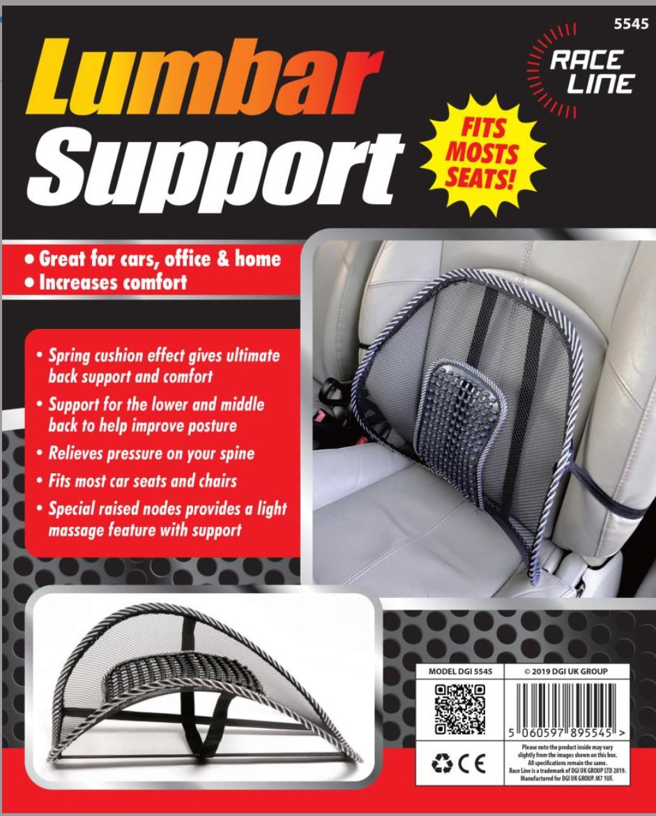 Lower Back Lumbar Support For Pain Relief