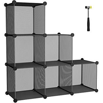 DIY Storage Cube 3 Tier Organizer