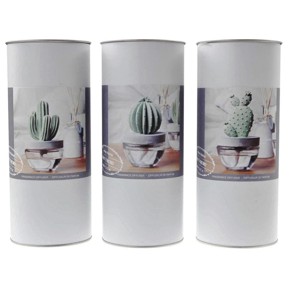 100ml Cactus Oil Scented Fragrance Diffuser Natural Aromatherapy Air Freshener