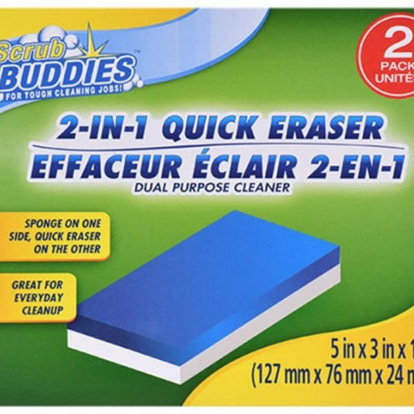 Scrub Buddies 2-in-1 Quick Sponge