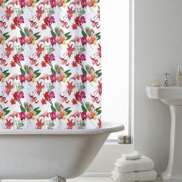 leez shower curtain